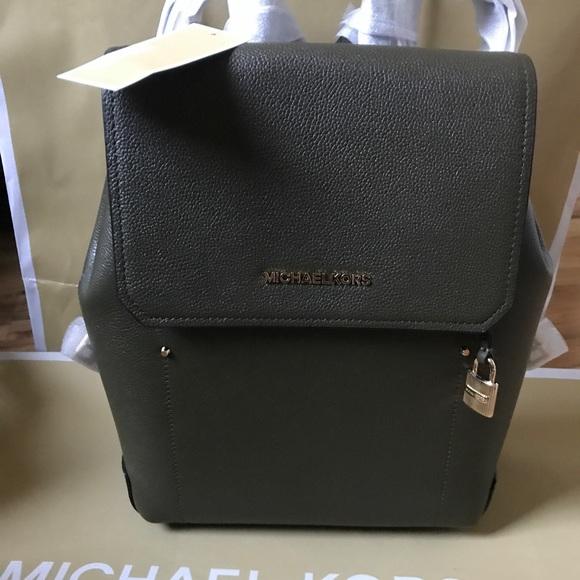 1fa0aa3c4a25 🌹🌸mk backpacks bag medium olive ballet Hayes